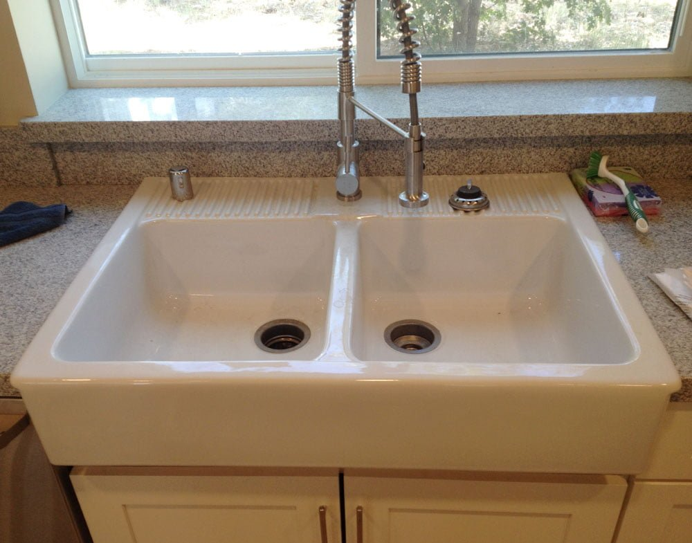 Making a Domsjo Kitchen Sink Legal in California - IKEA ...