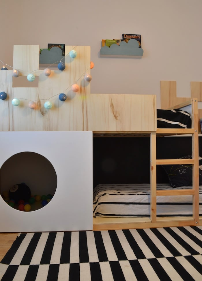 Kura Castle Bunk Bed Ikea Hackers Ikea Hackers