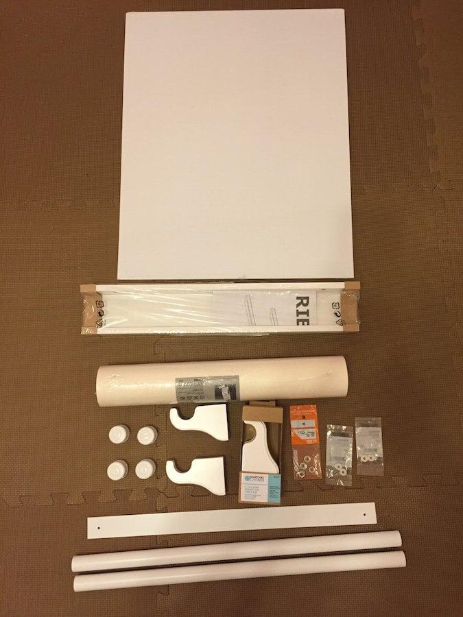 RIBBA-MALA Writing Wall Hack - IKEA Hackers