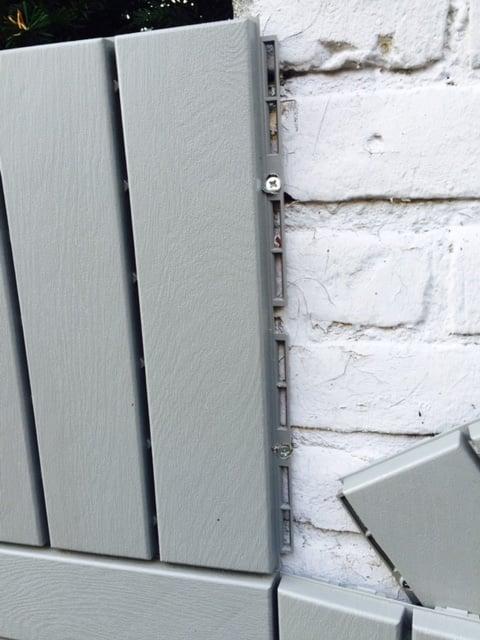 IKEA RUNNEN wall fence