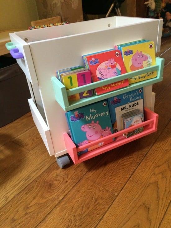Mobile Kids Book Storage