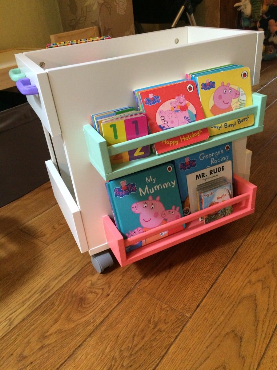Bekvam Meets Oltedal For Mobile Kids Book Storage IKEA Hackers