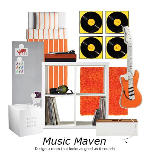 IKEA Back to College style boards - Music Maven