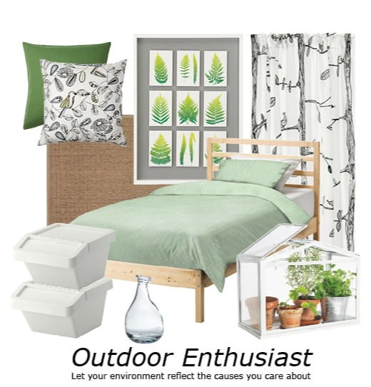 IKEA Back to College style boards - Outdoor Enthusiast