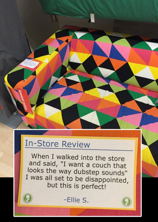 01 - Funny in-store IKEA reviews