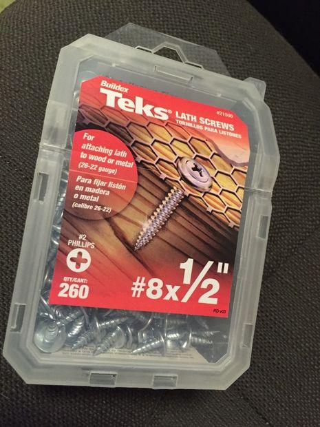 TEKS screws