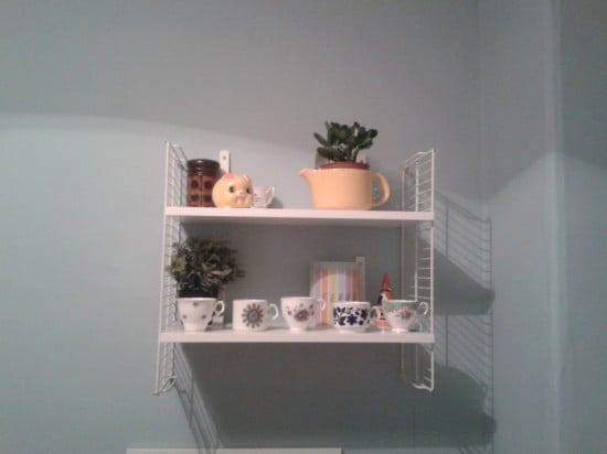 Cool DIY IKEA retro string shelving hack