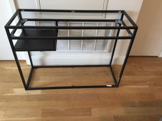 IKEA VITTSJO bar cart - Putting it together