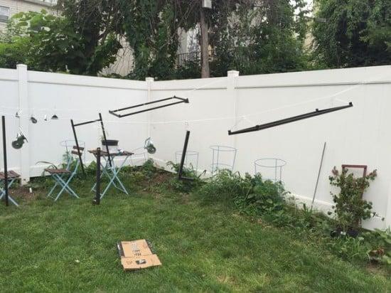 IKEA VITTSJO bar cart - spray painting
