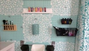 4 stenciled-pegboard-organizer-crafts-how-to-organizing