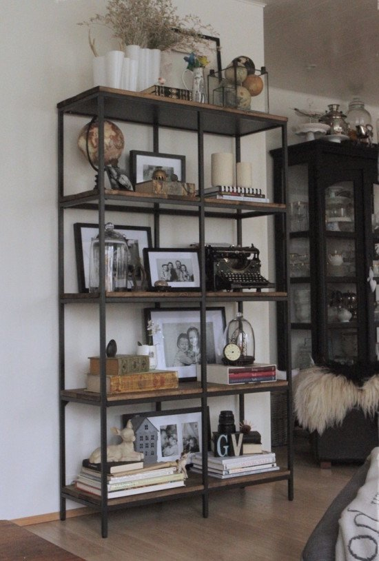 Turning The Vittsj Shelving Rustic And Industrial IKEA
