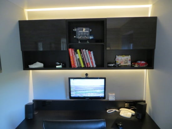 A study using floating BESTA cabinets