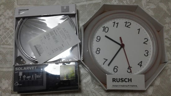 The RUSCH clock as frame