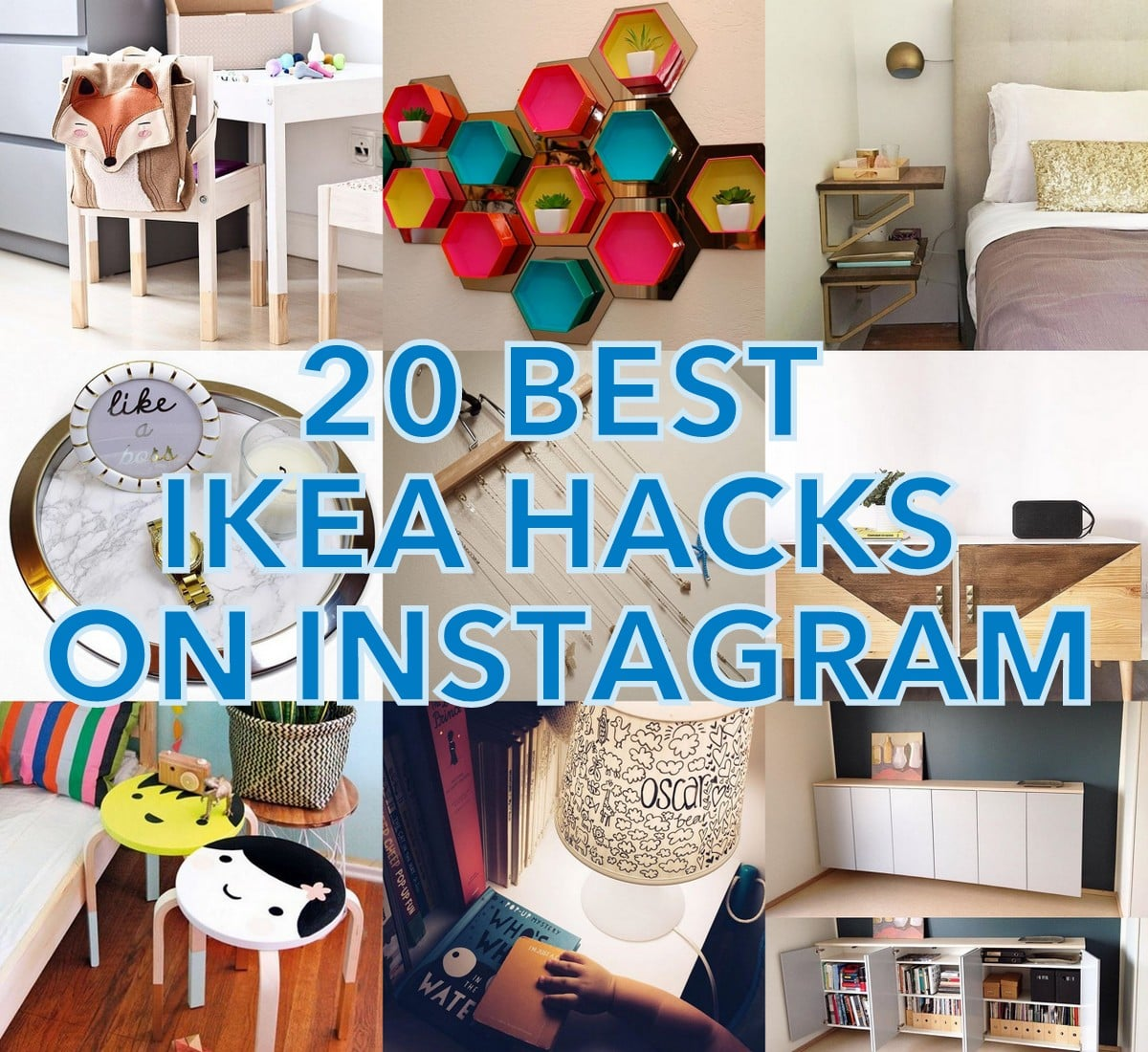instafav 20 best ikea hacks on instagram ikea hackers. Black Bedroom Furniture Sets. Home Design Ideas