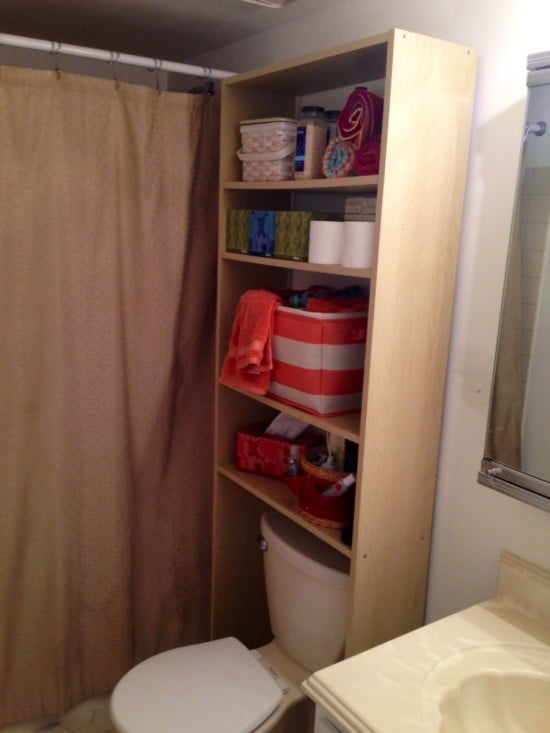 Squeeze In More Storage Over The Toilet With This Hack IKEA Hackers IKEA