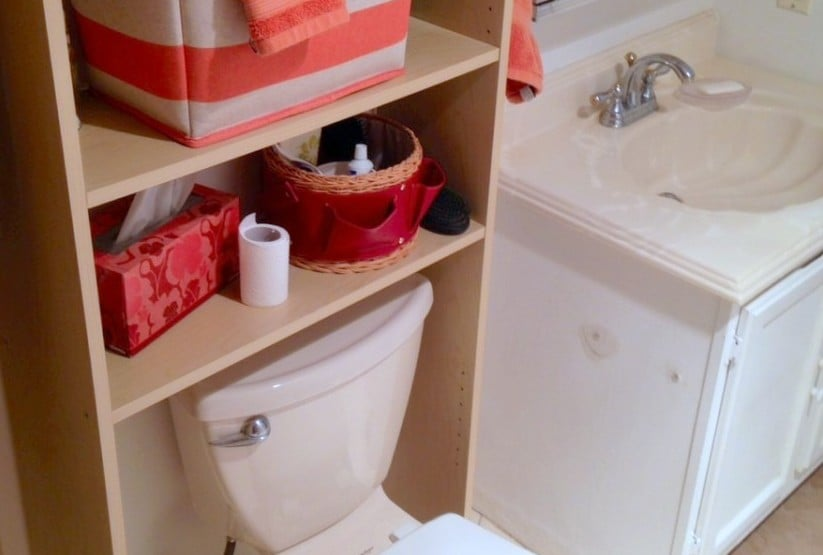 Stunning Squeeze in more storage over the toilet with this hack IKEA Hackers IKEA Hackers