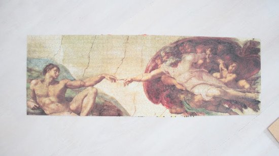 Creation of Adam jigsaw puzzle