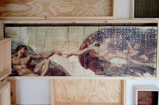 IKEA Knuff feat. Michelangelo Sistine Chapel