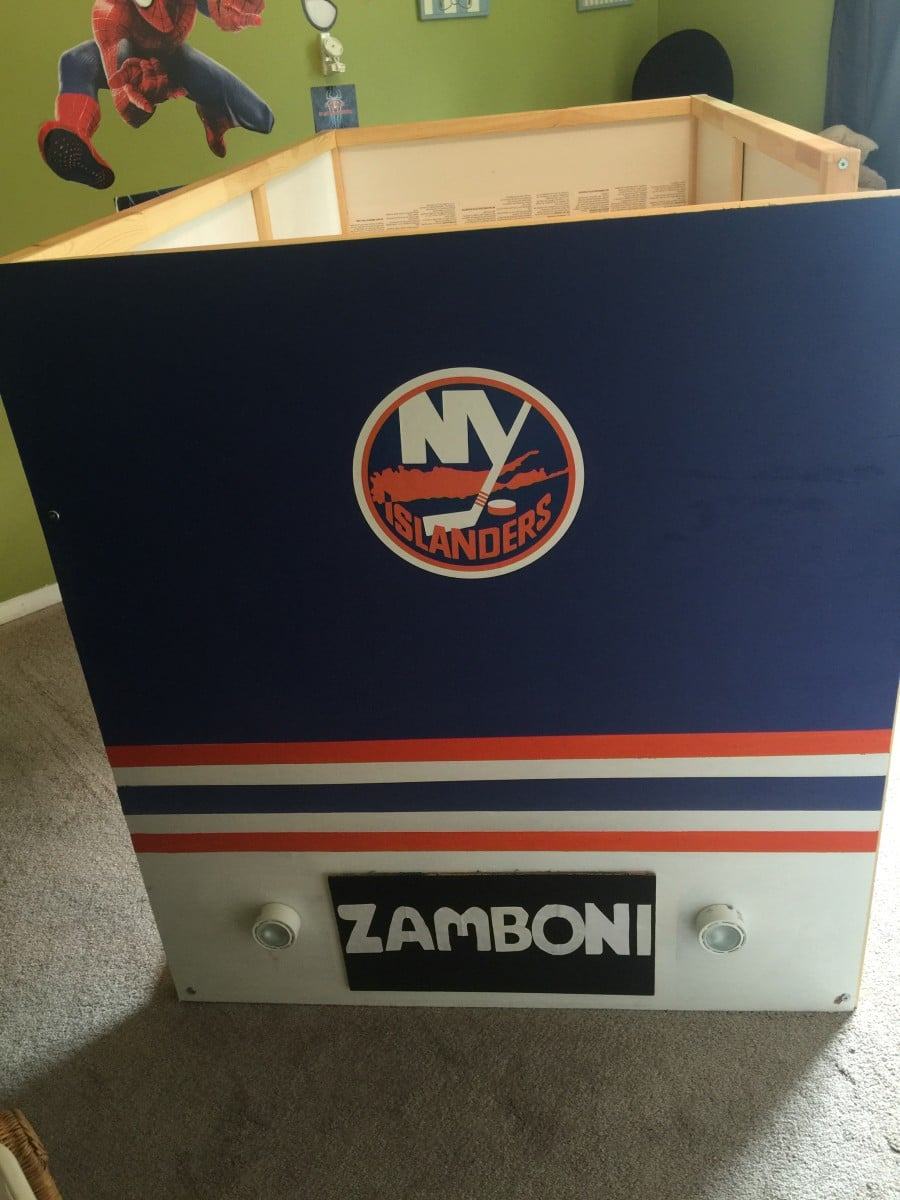 New york islanders zamboni bed ikea hackers ikea hackers for Floor zamboni