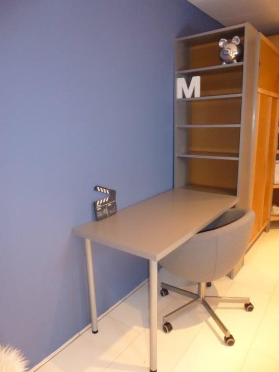BILLY bookcase LINNMON desk