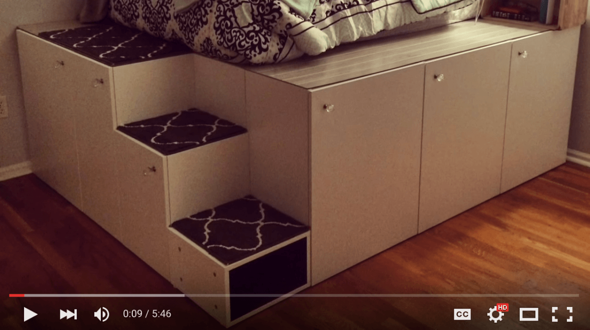 Ikea Sektion Hack Platform Bed Diy Ikea Hackers