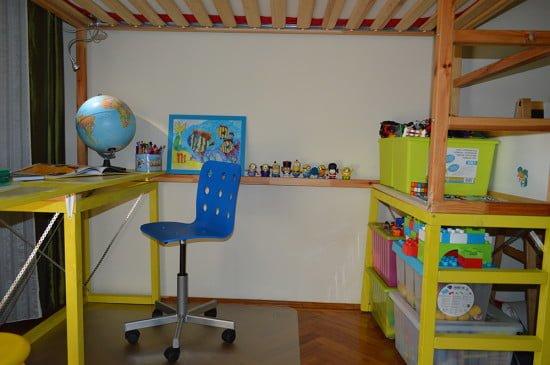KURA Bed with study desk 1