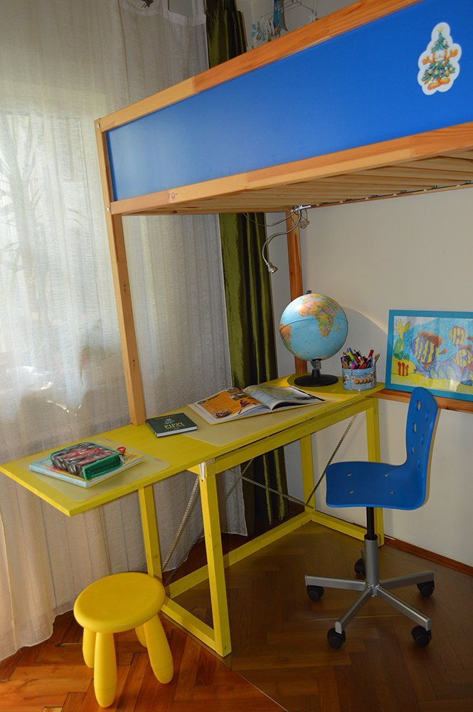 How To Hack Kura Bed With Study Desk Ikea Hackers
