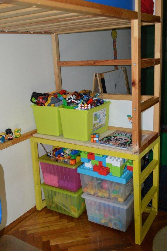 KURA Bed with study desk 3