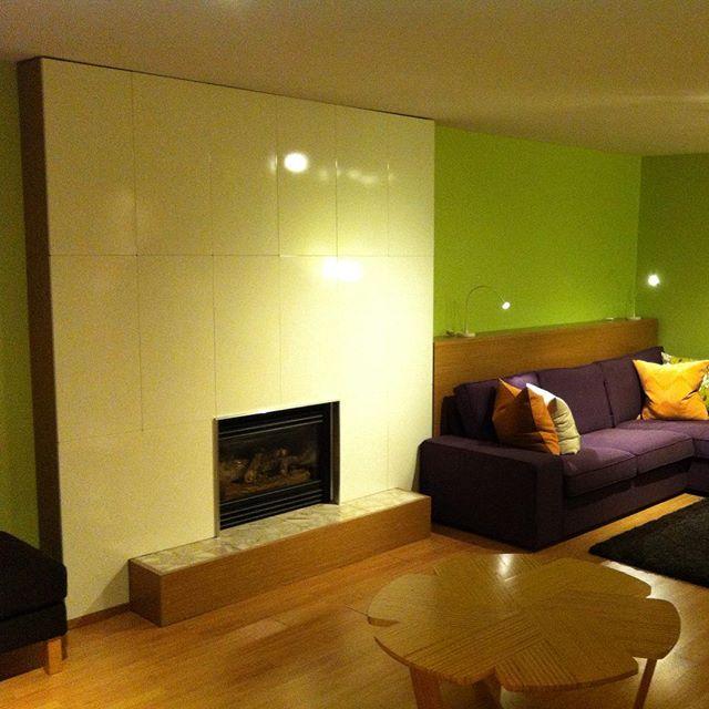 IKEA SPONTAN modern fireplace