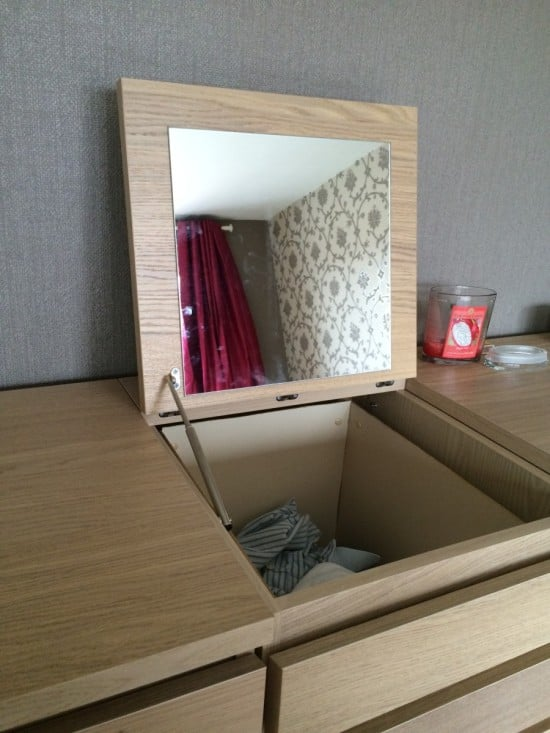 Disguised MALM laundry basket   IKEA Hackers
