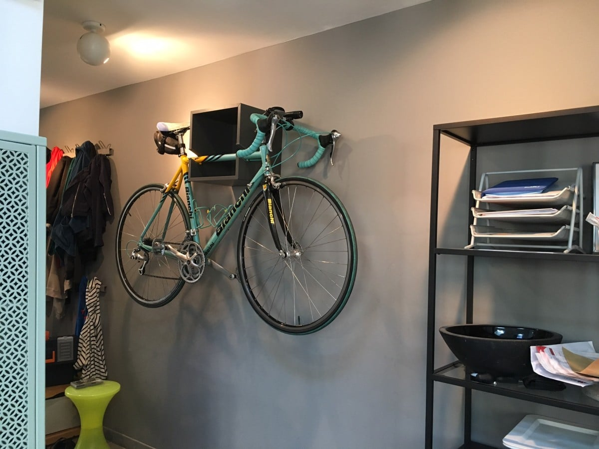 The Ikea Valje Wall Mounted Bike Rack Is In Town Hackers