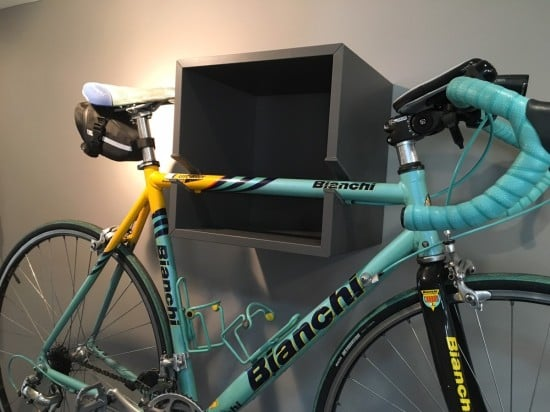 IKEA VALJE wall mounted bike rack