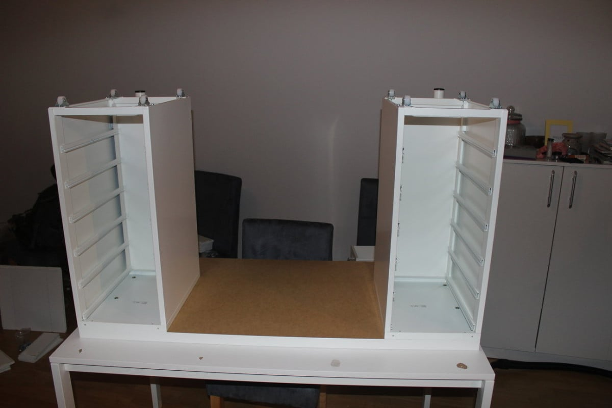 Makeup vanity - the drawers - An Affordable IKEA Dressing Table (makeup Vanity) - IKEA Hackers