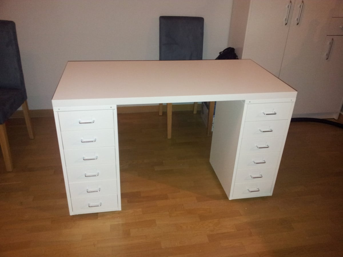 An affordable IKEA dressing table (makeup vanity) - IKEA Hackers ...