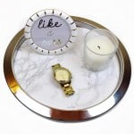 IKEA Hack Marble tray