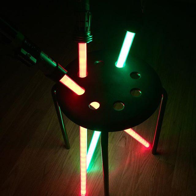 Lightsaber stand