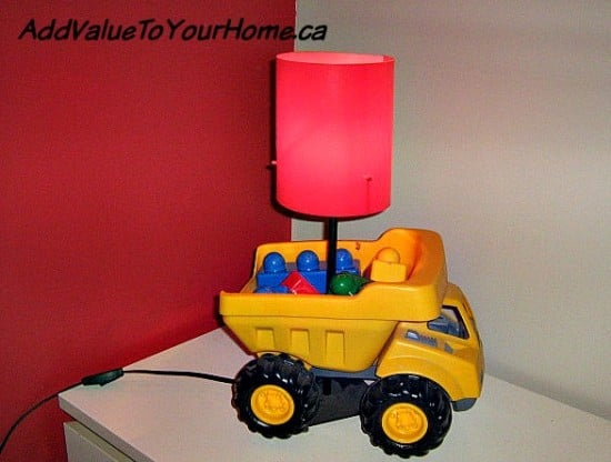 How to make a dump truck light for under $10