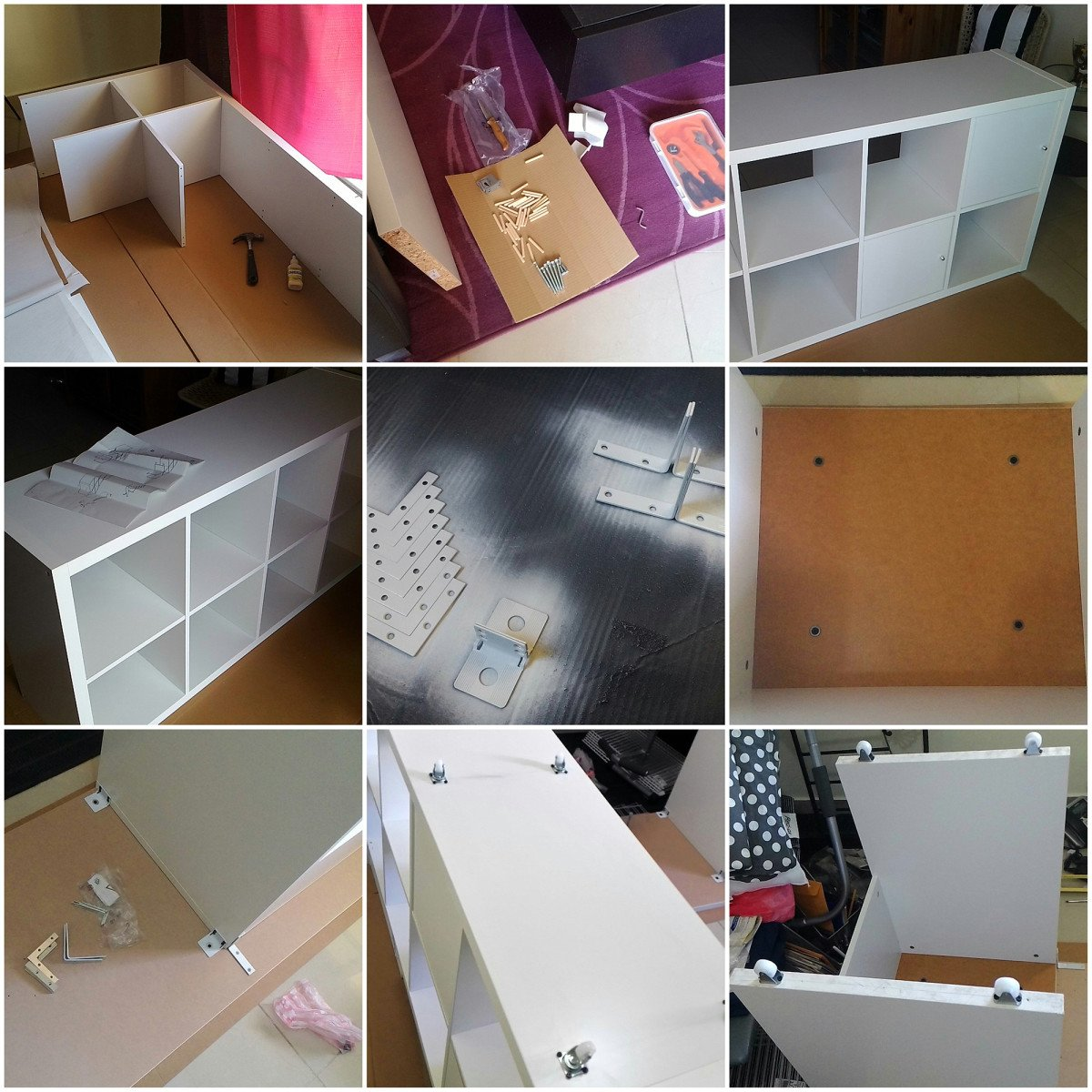 Ikea Kallax Linnmon Desk Hack Ikea Hackers