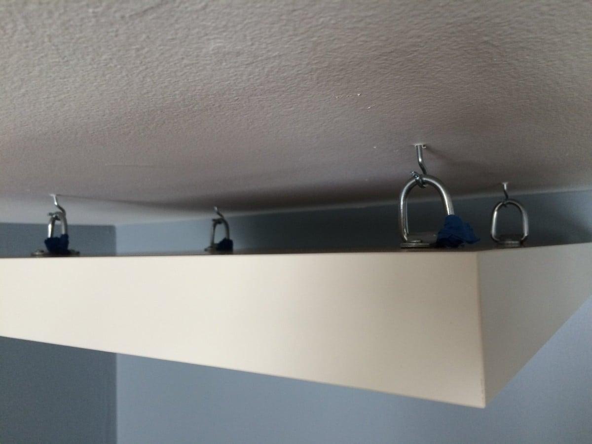 Hook up ceiling light fixture