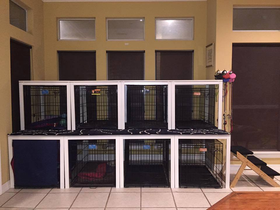 Ikea Kitchen Tables Converted To Canine Condo Ikea