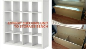 EXPEDIT storage bench