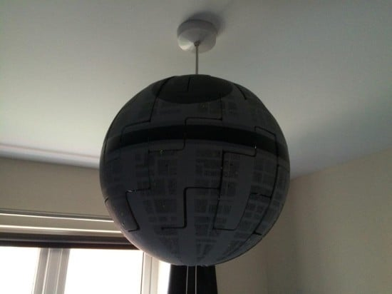 Death Star mounted