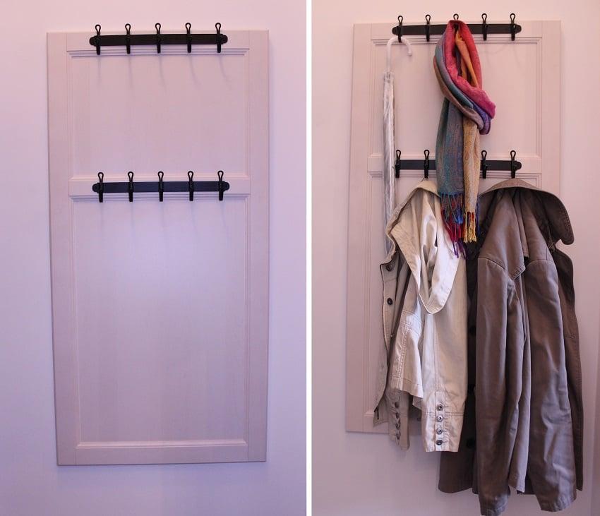 Laxarby Door Becomes Landing Space Coat Rack Ikea