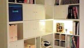 KALLAX corner bookcase