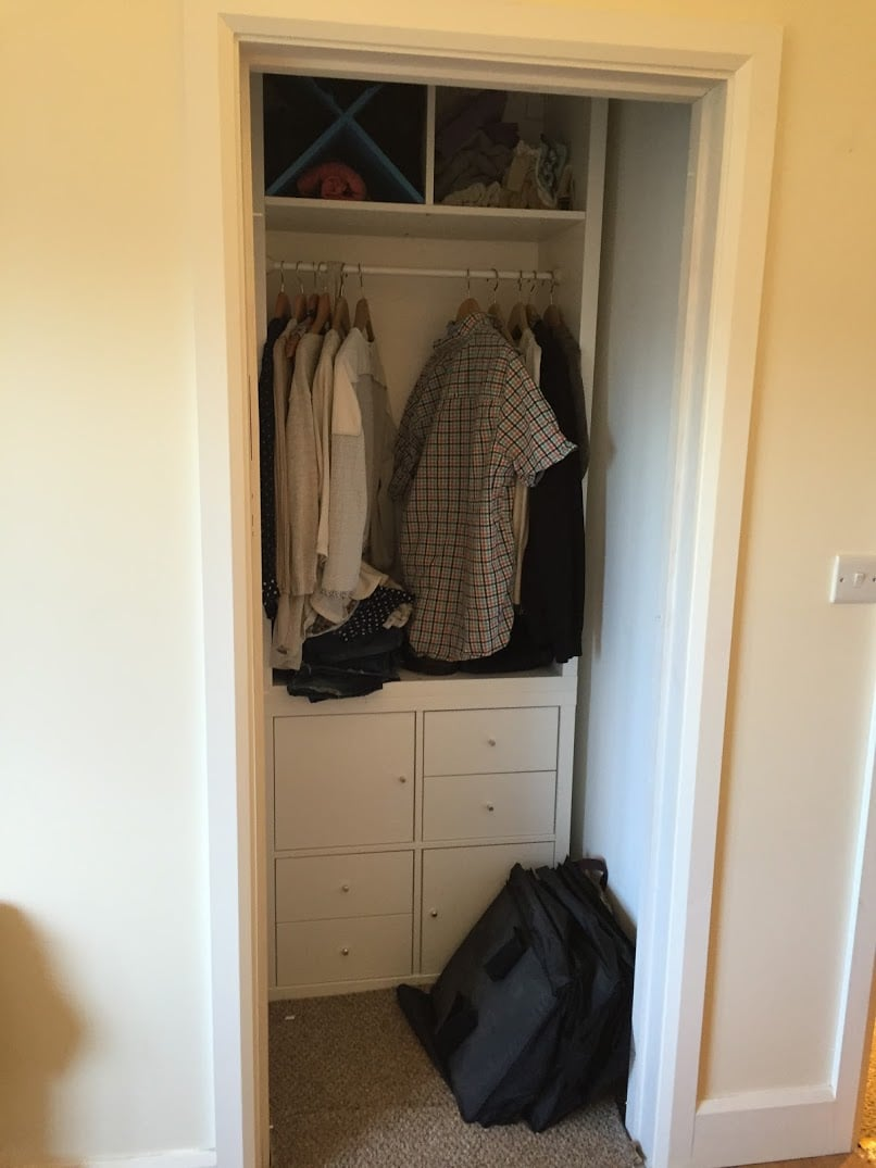 Kallax with drawers for closets