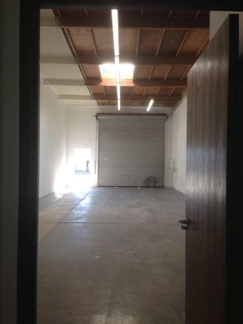 Fluorescent lighting in warehouse
