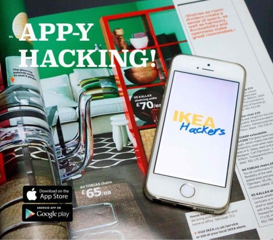 IKEA Hackers Mobile App - now available on the App Store and Google Play