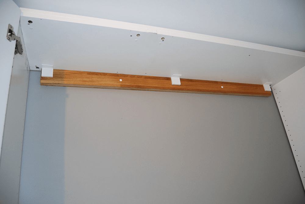 We Hid A Full Size Murphy Bed In Our Ikea Closet Ikea Hackers