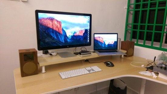 10 cm lift Desk Shelf Monitor Stand