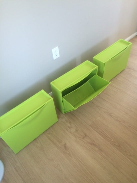 IKEA TRONES shoe storage boxes